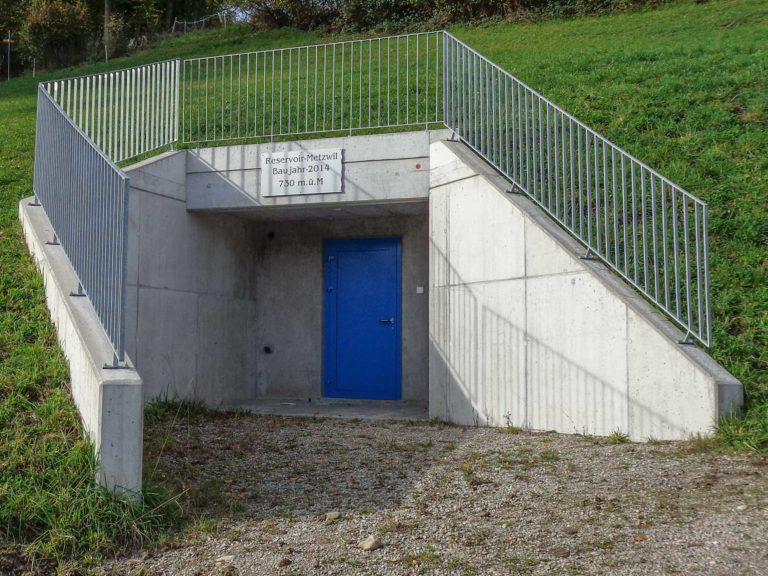 Trinkwasserreservoir Metzwil