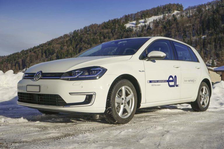 Elektro-Fahrzeug VW E-Golf