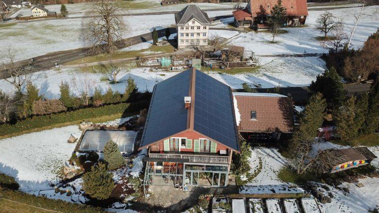 Installierte Leistung von Photovoltaikanlagen in gemeinsamer Zusammenarbeit